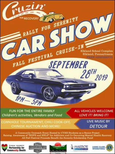 9-28 Bring your car to the Fall Festival