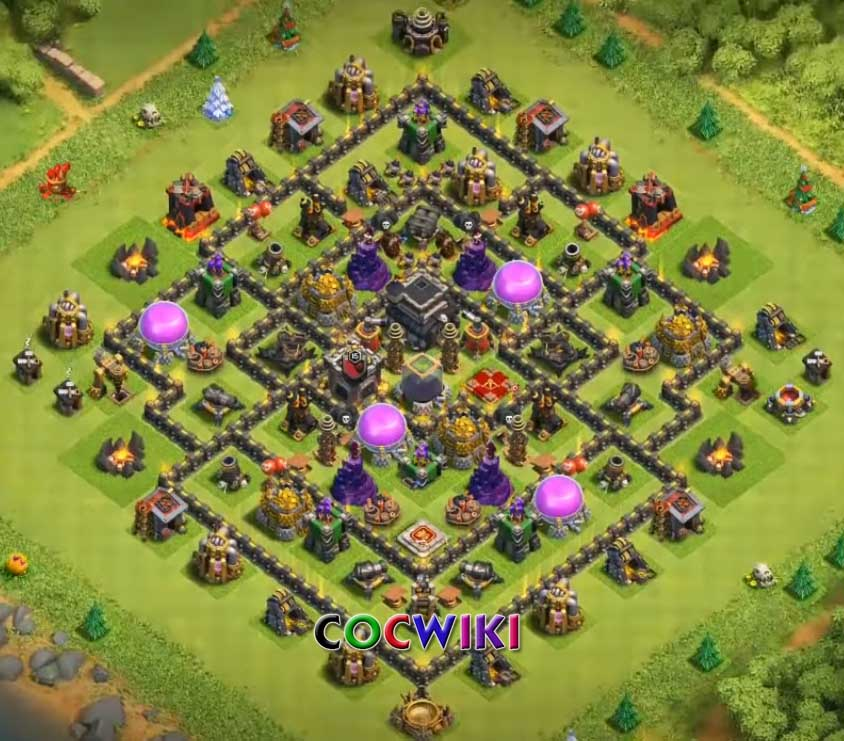 10+ Best TH9 Farming Base 2019