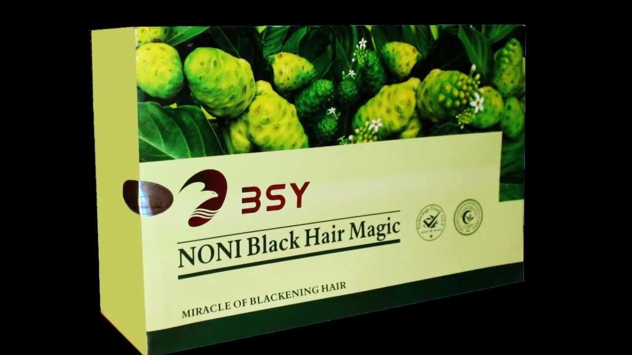 Bsy Noni Black Hair Magic Shampo Asli Original Termurah Shampoo Bpom Bsy2bblack2bnoni