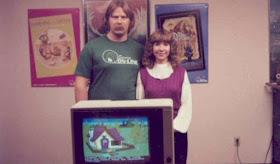 Ken y Roberta Williams con King's Quest V