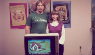 Ken y Roberta Williams con King's Quest V