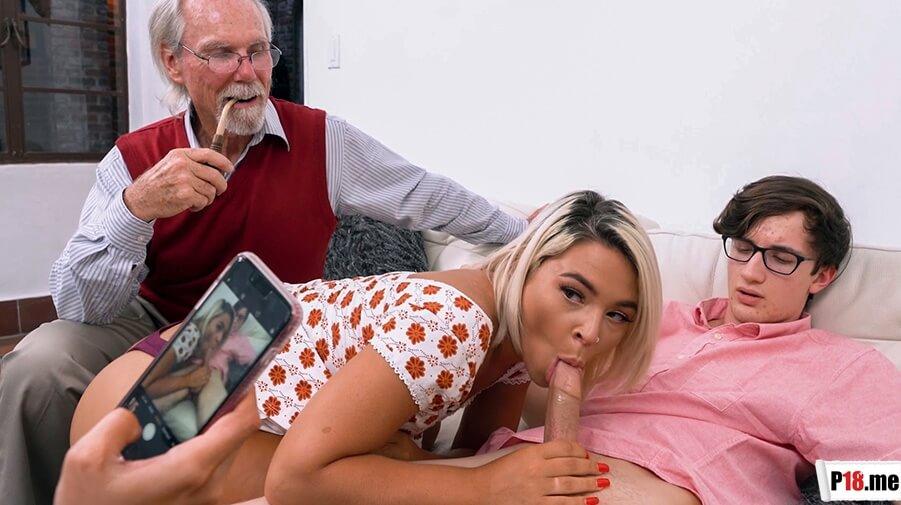 FilthyFamily - Rharri Rhound & Janna Hicks - Family Fucks To Make Him Jealous