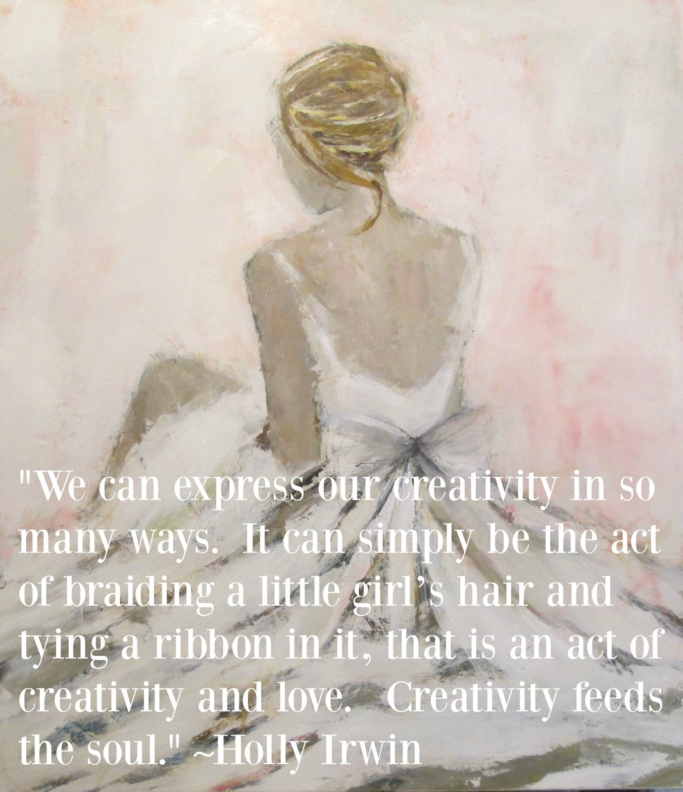Creativity quote by Holly Irwin