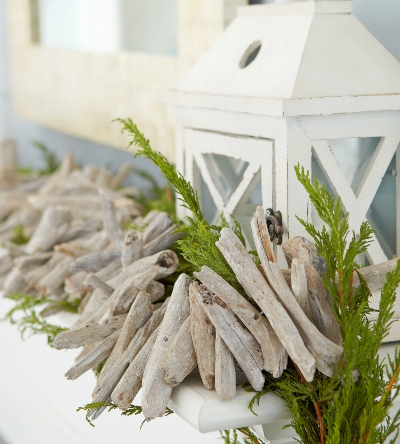 Driftwood Garland for Christmas