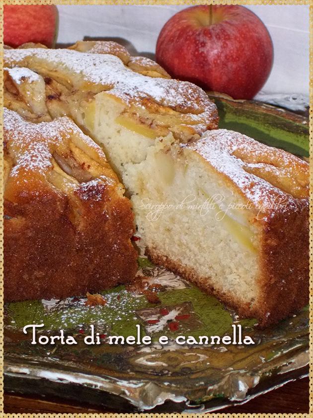 Torta di mele e cannella, fetta