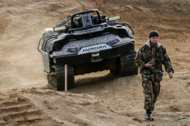 Kendaraan Robot Tercanggih Rusia Dapat Terjun Dari Pesawat