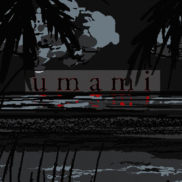 Umami Palm Black Wallpaper Engine