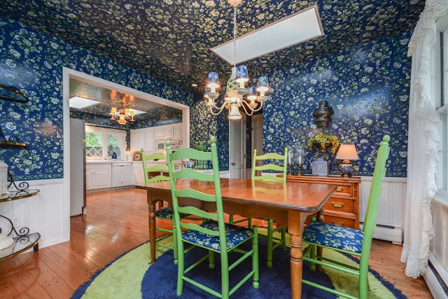 Homegazing: Woman behind 'wallpaper house' in Golden Valley was a designer A Golden Valley designer loved bright color, bold prints and florals from floor to ceiling. The result was a wallpaper-covered home that you can have for $674,900.