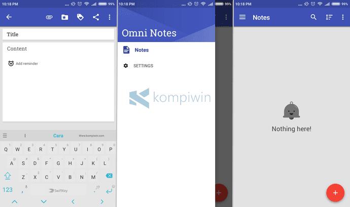 aplikasi omni notes catatan android