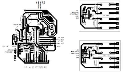 PCB LAMINATOR CONTROLLER, CODE AND PCB PRINTING
