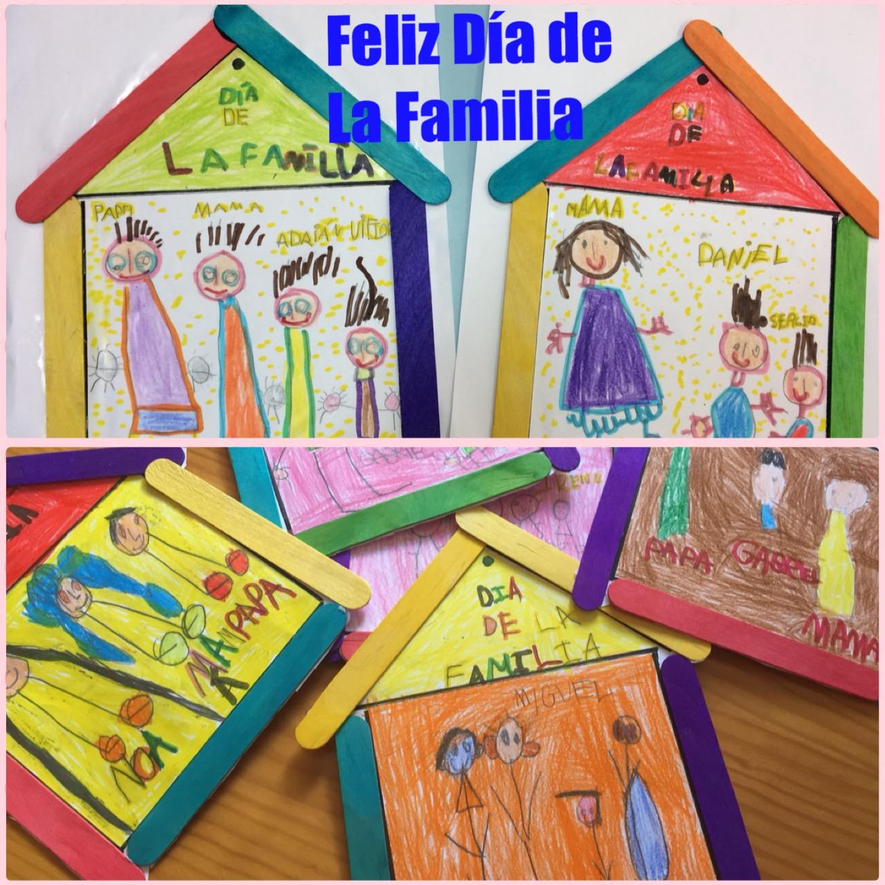 Infantiles de ana v d a de la familia - Manualidades en familia ...
