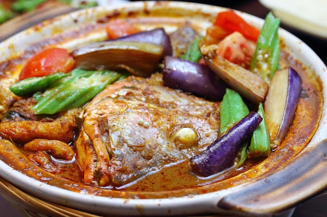 Indian Style Fish Head Curry