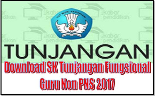 Download SK Tunjangan Fungsional Guru Non PNS