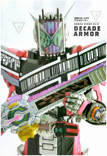Detail of Heroes: Kamen Rider Zi-O Decade Armor, Kuuga Armor & W Armor!