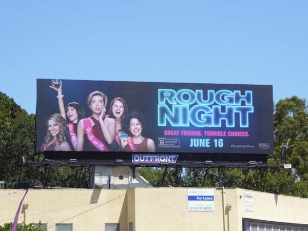 Rough Night film billboard