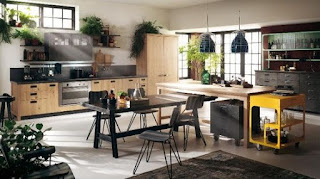 Beautiful kitchen decorating