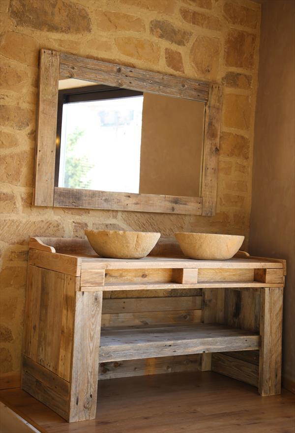Meubles et autres objets a faire pour la salle de bain et ...
