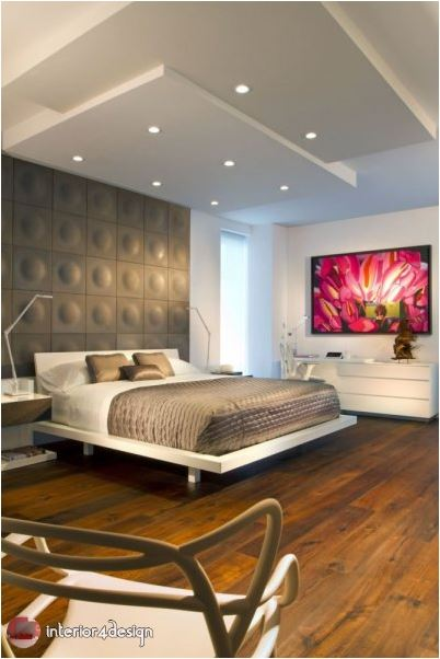 Gypsum Bedroom Designs 10