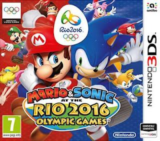 Mario y Sonic y los juegos olimpicos rio 2016, 3DS, Español, Mega, Mediafire