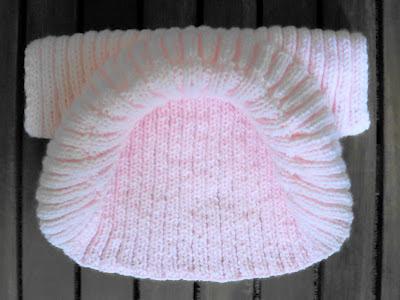 Baby Bolero Shrug Hand Knitting Pattern