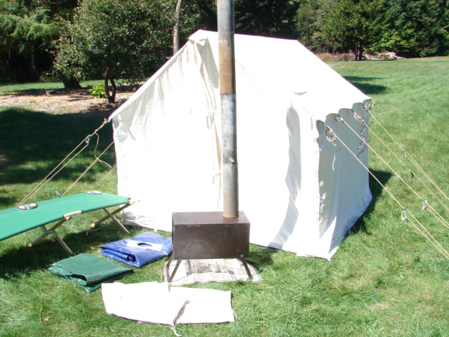 Original 8x10 hot tent. Photo Credit Robin L & Paddle Making (and other canoe stuff): Next Major Canoe Gear ...