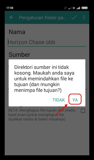 FolderMount Pemindahan Data dan Obb