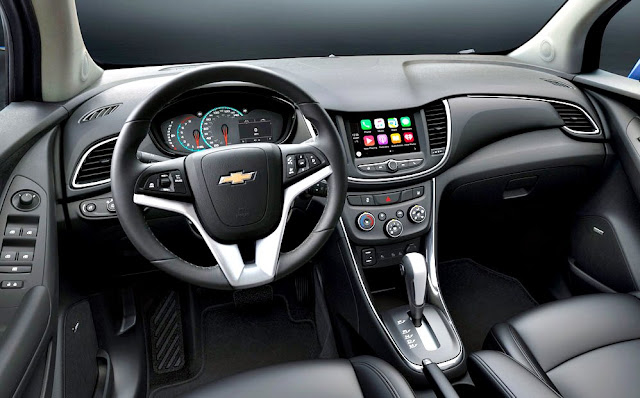Chevrolet Tracker 2017 interior