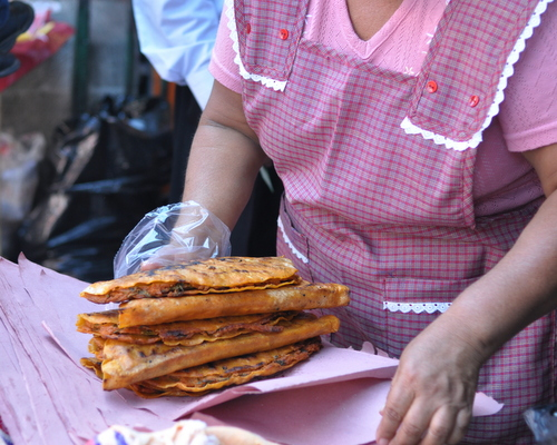 Fresh tortillas in Oaxaca, Mexico, inspiration for Deep Mexico, ingredient-driven Mexican meal prep ♥ KitchenParade.com.