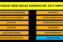 Free KKM / KBM SMP-MTs Kelas 7-8-9 Kurikulum 2013