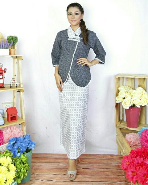 model baju pesta rok dan blus