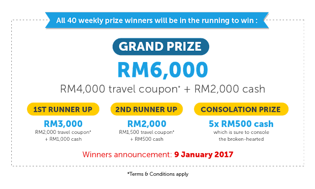 make me win you need a holiday lah traveloka contest
