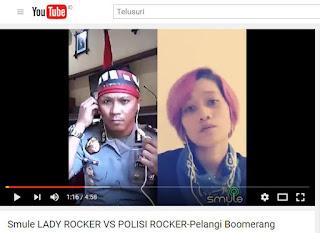 VIDEO: Gunakan Aplikasi Smule, Polisi Luwu Ini Menyani Hebohkan Jagat Maya
