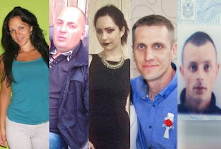 Victims of the massacre in Zitiste