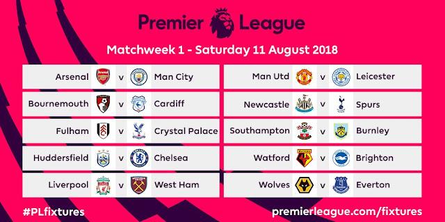 Premier League announce 2018/19 fixture: Arsenal face tough start [Full list]