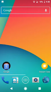 android kitkat screenshot