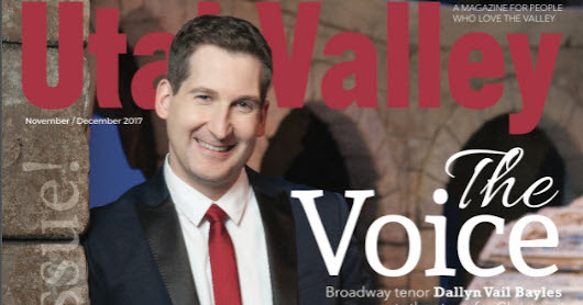 "Utah Valley Magazine features ""My Nativity ABCs"""