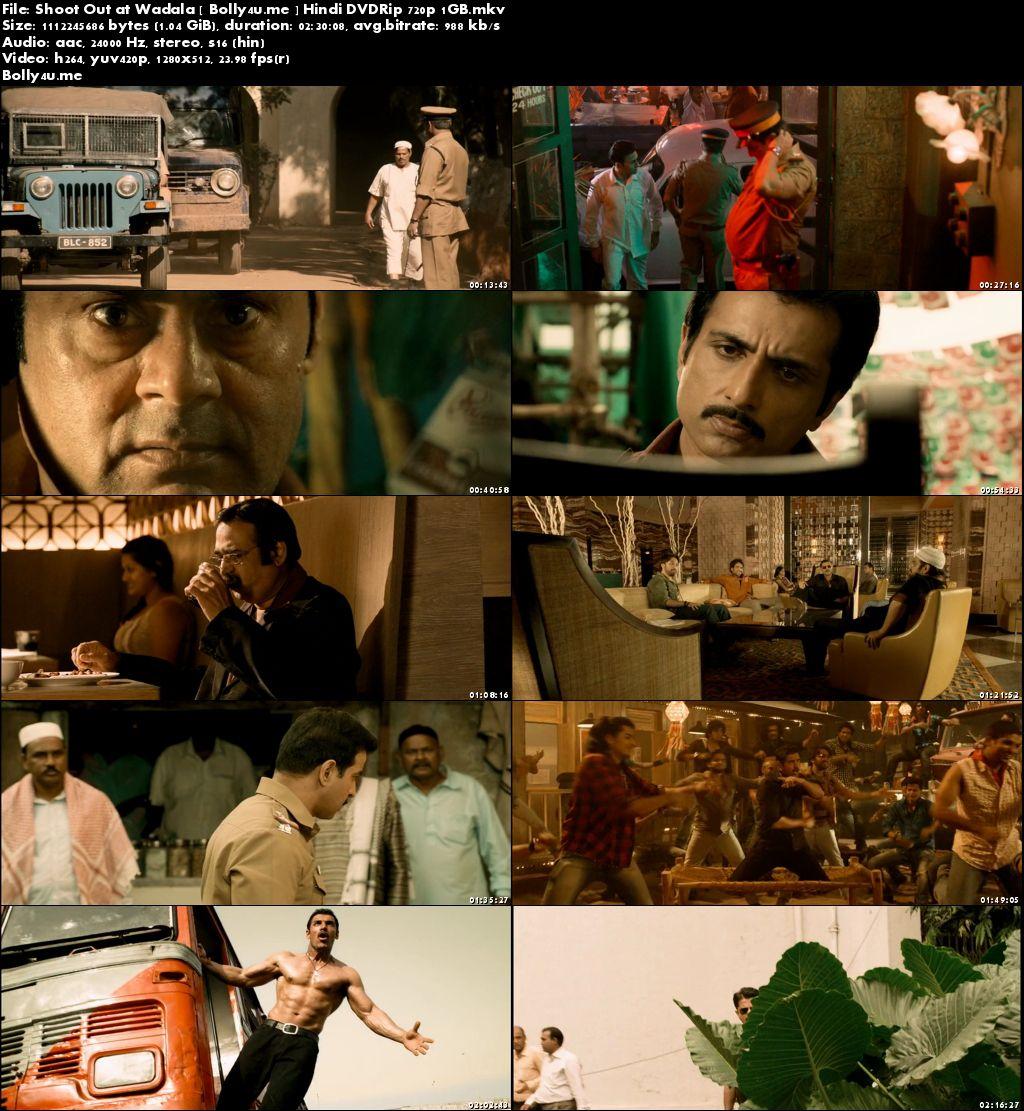 Shootout at Wadala 2013 DVDRip 400MB Full Hindi Movie Download 480p