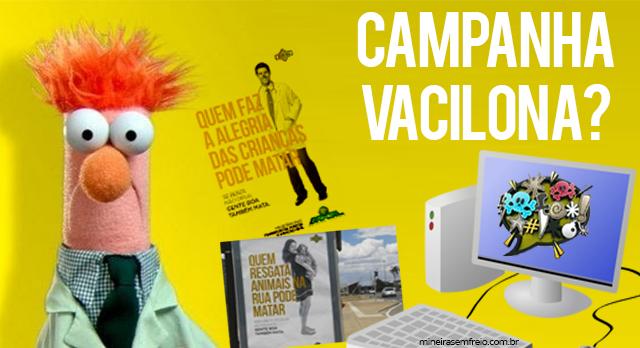 """Ministério dos Transportes e a campanha """"vacilona"""""""