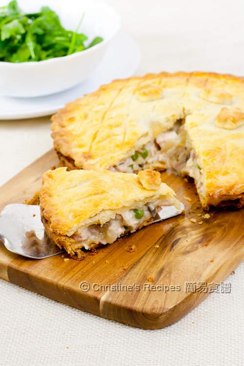 Mushroom Chicken Pie03