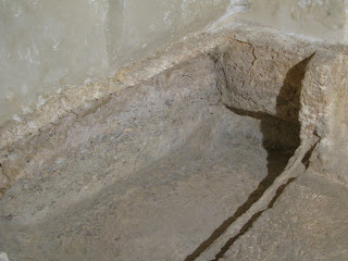 A rock-cut tomb in Jerusalem