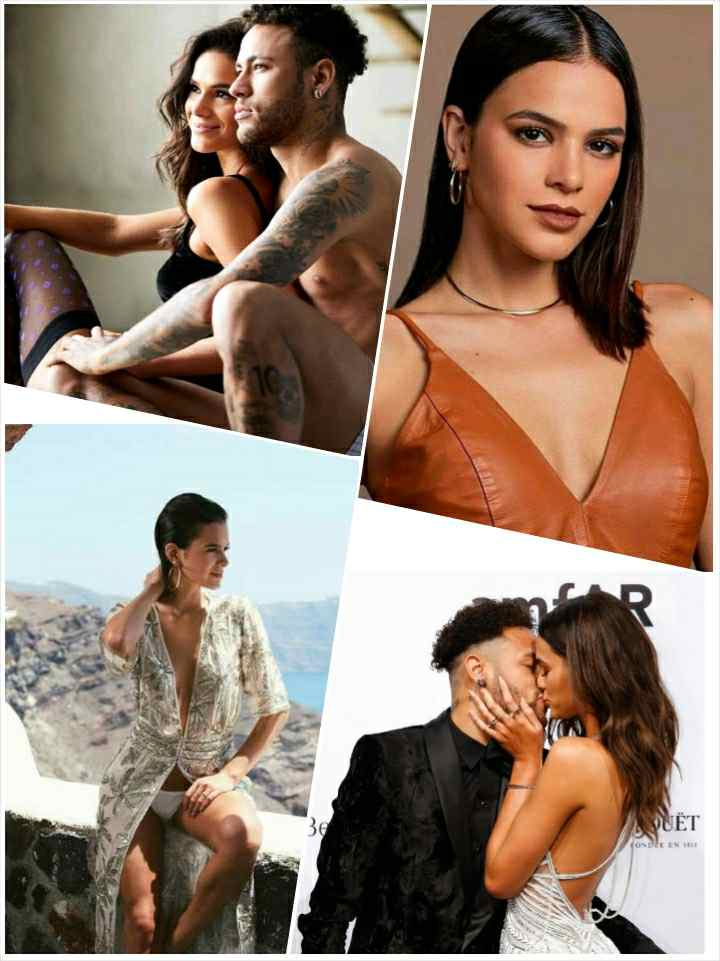 Bruna Marquezine and Neymar