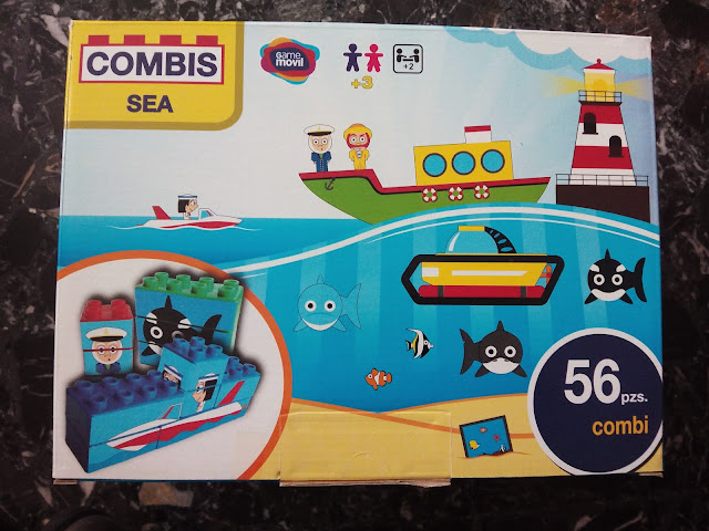 Combisticker-sea