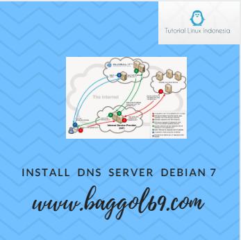 Install  dan  Konfigurasi  Dns  Server  di  Debian  7