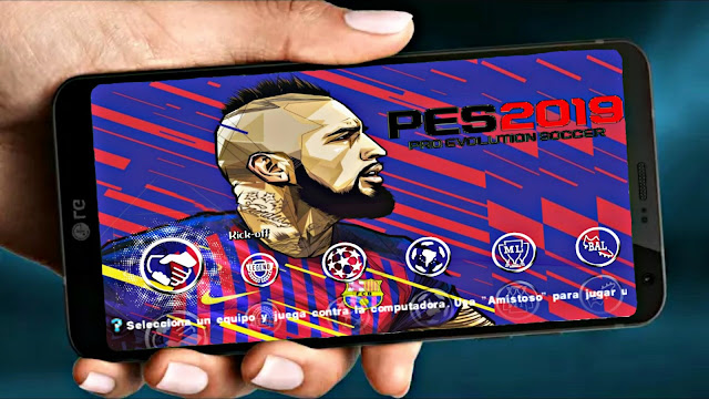 PES 2019 Android Offline 500 MB New Kit Latest Transfer Update