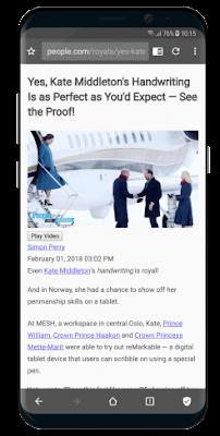 مُتصفّح الإنترنت مانع الإعلانات, تطبيق Free Adblocker Browser
