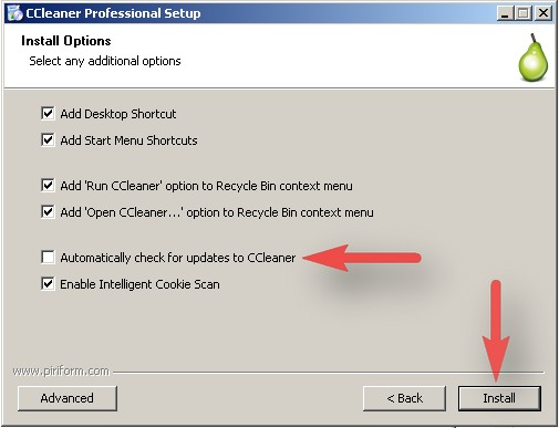 Completely Install CCleaner Professional Edition