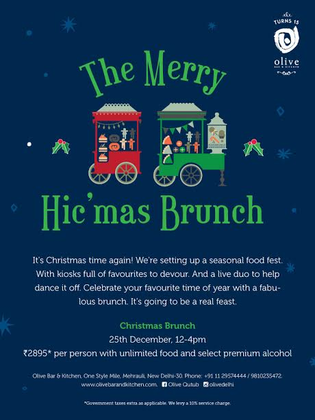OLIVE QUTUB PRESENTS ​​​CHRISTMA​​S​​ BRUNCH ​​​