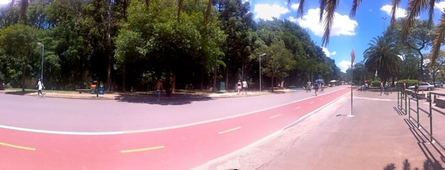 Parque Ibirapuera - Ciclofaixa