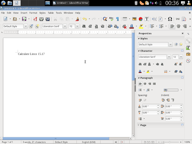 LibreOffice productivity suite
