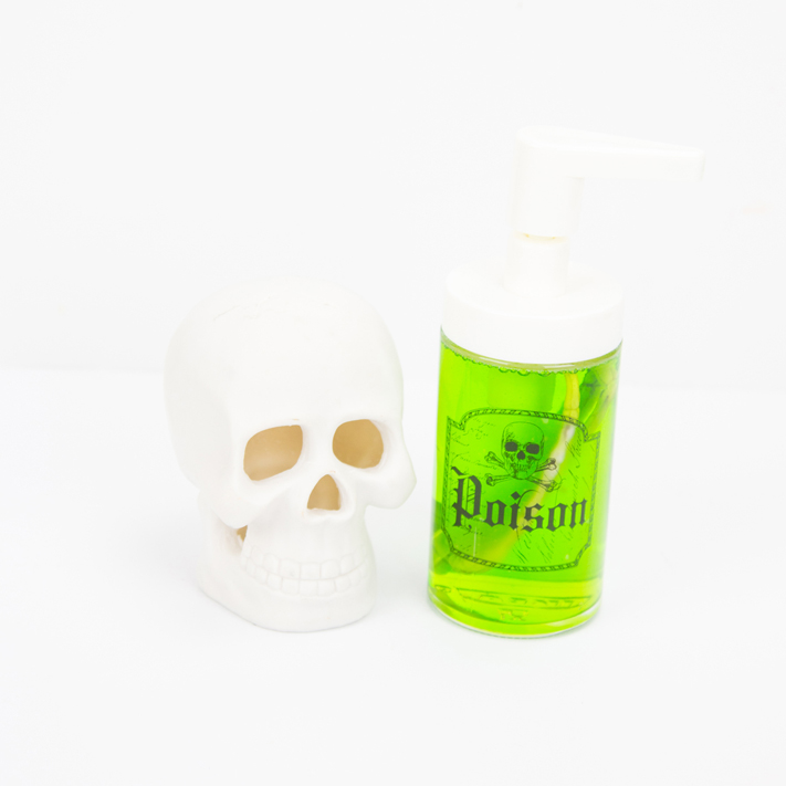 DIY Halloween Soap Dispensers by @createoften